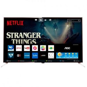 Smart TV LED 50 UHD AOC LE50U7970S com Wi-Fi, App Gallery, Botão Netflix, Conversor Digital Integrado, HDMI e USB