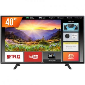 Smart TV Panasonic 40 LED WiFi Hdmi Usb TC40FS600