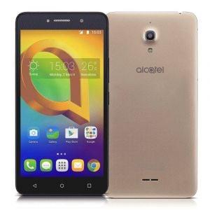 Smartphone Alcatel A2 XL HD Dourado Tela de 6 IPS HD 16GB 1GB RAM Quad-Core Câmera 13MP Frontal de 8MP Android 5.1