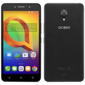 Smartphone Alcatel A2 XL HD Preto Tela de 6 IPS HD 16GB 1GB RAM Quad-Core Câmera 13MP Frontal de 8MP Android 5.1