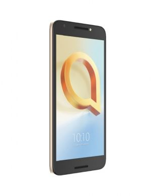 Smartphone Alcatel A3 Plus Preto E Dourado, 4G, 1GB RAM, Camera 8MP, Selfie 5MP, Quad core