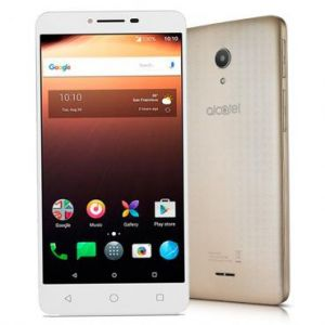 Smartphone Alcatel A3 XL MAX Dourado 9008N-Dual Chip, 4G, Tela 6IPS HD, Câmera 8MP + Frontal 5MP Com Flash, Quad-Core, 32GB, 3GB RAM, Android 7.0