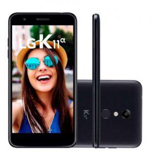 Smartphone LG K11 Alpha 16GB Dual Chip Tela 5.3 Câmera 8MP Frontal 5MP Android 7.1 Preto
