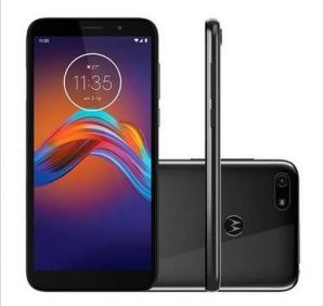 Smartphone Motorola E6 Play Cinza 32GB Dual Chip 4G 13 MP