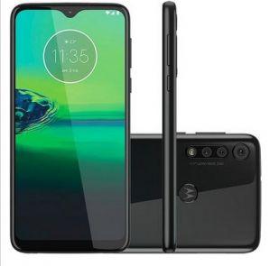 Smartphone Motorola G8 Play Preto Onix 32GB 4G Octa Core Tela 6.2 13MP