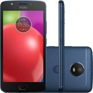 Smartphone Motorola Moto E4 Dual Chip Android 7.1 Nougat Tela 5 Quad-Core 1.3GHz 16GB 4G Câmera 8MP  Azul