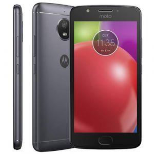Smartphone Motorola Moto E4 Dual Chip Android 7.1 Nougat Tela 5 Quad-Core 1.3GHz 16GB 4G Câmera 8MP  Titanium