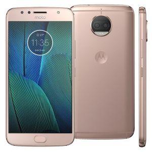 Smartphone Motorola Moto G5s Plus XT1802 Ouro Rosé 32GB, Tela 5.5, Dual Chip, TV Digital, Android 7.1, Câmera Traseira Dupla 13MP e 3GB RAM