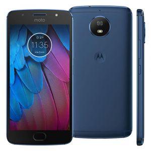 Smartphone Motorola Moto G5s XT1792 Azul com 32GB, Tela de 5.2, Dual Chip, Android 7.1, 4G, Câmera 16MP, Processador Octa-Core e 2GB de RAM