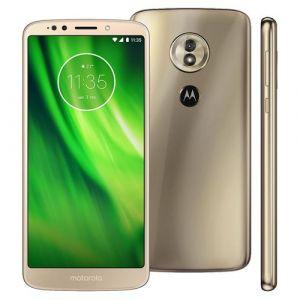 Smartphone Motorola Moto G6 Play Dourado Tela 5.7 Android 8.0 Oreo Câmera 13MP 32GB