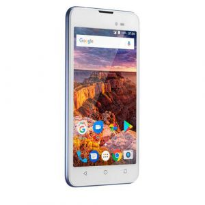 Smartphone Multilaser MS50L 3G Branco/Azul NB709 - 2 Chips, Tela 5.0, Android 7.0, Q.Core, 1Gb Ram