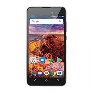 Smartphone Multilaser MS50L 3G Preto/Grafite NB706 - 2 Chips, Tela 5.0, Android 7.0, Q.Core, 1Gb Ram