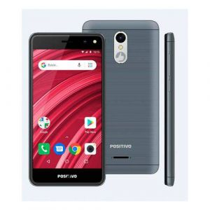 Smartphone Positivo Twist 2 Fit 8GB Tela 5 Câmera 5MP S509 Cinza