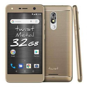 Smartphone Positivo Twist Metal S531 32GB Dual Chip Tela 5.2 Quad-Core Android 8.0 Câmera 8MP 3G Dourado