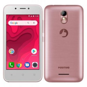 Smartphone Positivo Twist Mini S431 8GB Quad-Core 3G Dual Chip Android Oreo Tela 4 Rosa