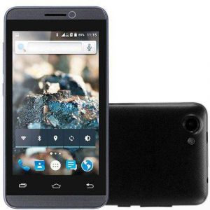 Smartphone Rockcel Quartzo Up 8GB com Dual Chip Tela 4.5 3G Wi-Fi 5MP Preto