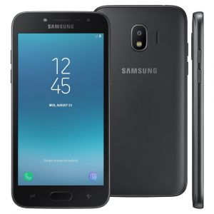 Smartphone Samsung Galaxy J2 Pro Preto 16GB, Tela 5 Super AMOLED, Dual Chip, Câmera 8MP, Android 7.1, Processador Quad Core de 1.4 Ghz e 1.5GB RAM