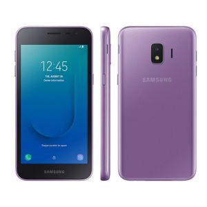 Smartphone Samsung Galaxy J2 Core 16GB Dual Chip Android 8.1 Tela 5 Quad-Core 1.4GHz 4G Câmera 8MP Violeta