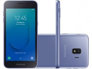 Smartphone Samsung Galaxy J2 Core 16GB Dual Chip Android 8.1 Tela 5 Quad-Core 1.4GHz 4G Câmera 8MP Prata