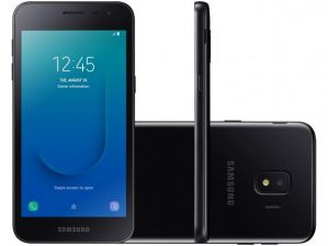 Smartphone Samsung Galaxy J2 Core 16GB Dual Chip Android 8.1 Tela 5 Quad-Core 1.4GHz 4G Câmera 8MP Preto