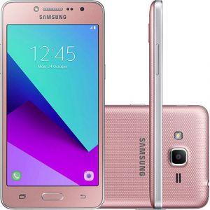 Smartphone Samsung Galaxy J2 Prime G532M Dual Chip Android 6.0.1 Tela 5 Quad-Core 1.4 GHz 16GB 4G Câmera 8MP Rosa
