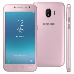 Smartphone Samsung Galaxy J2 Pro 16GB, Tela 5 Super AMOLED, Dual Chip, Câmera 8MP, Android 7.1, Processador Quad Core de 1.4 Ghz e 1.5GB RAM Rose
