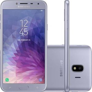 Smartphone Samsung Galaxy J4 32GB Dual Chip Android 8.0 Tela 5.5 Quad-Core 1.4GHz 4G Câmera 13MP Prata