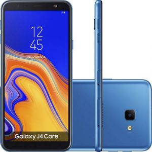 Smartphone Samsung Galaxy J4 Core 16GB Dual Chip Android Tela 6 Quad-Core 1.4GHz 4G Câmera 8MP Azul