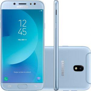 Smartphone Samsung Galaxy J7 Pro Android 7.0 Tela 5.5 Octa Core 64GB 4G WiFi Câmera 13MP  Azul