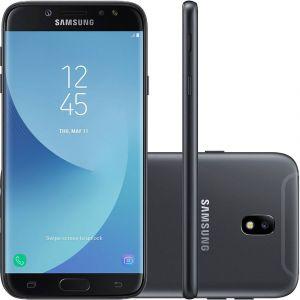 Smartphone Samsung Galaxy J7 Pro Android 7.0 Tela 5.5 Octa Core 64GB 4G WiFi Câmera 13MP  Preto
