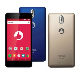 Smartphone TWIST S520 com Dual Chip Android 6.0 Positivo