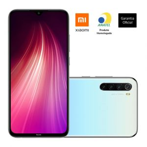 Smartphone Xiaomi Redmi Note 8 4GB Ram Tela 6.3 64GB Câmera Quad 48+8+2+2MP