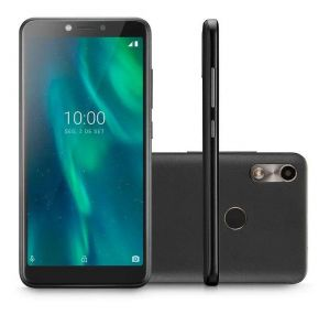Smartphone Multilaser F NB769 16GB Dual Chip Android 9.0 Tela 5.5 Quad-Core Câmera 5MP Preto