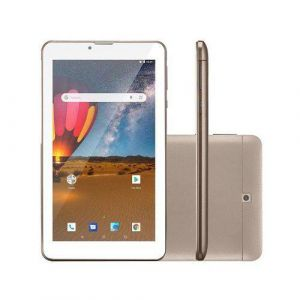 Tablet Multilaser M7 3G Plus NB306 16GB 7 Pol 3G Wi-Fi Android 8.0 Quad Core Câmera Integrada Dourado