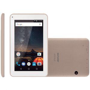 Tablet Multilaser M7S Plus Quad Core Câmera Wi-Fi 1GB de RAM Tela 7 Memória 8GB Dourado NB276