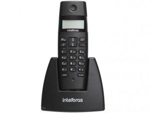 Telefone Intelbras Sem Fio TS40ID Preto