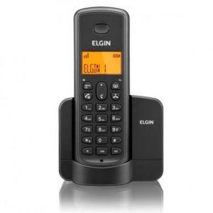 Telefone Sem Fio Elgin Tsf 8001 Viva Voz E Identificador De Chamadas