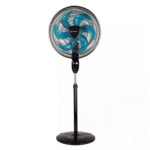 Ventilador de Coluna Cadence Ventilar Eros Supreme VTR865 3 Velocidades 40cm 220V Preto e Azul
