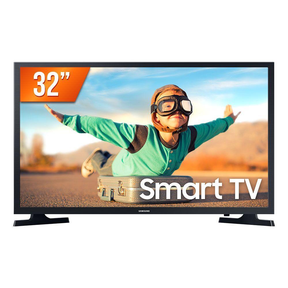 Smart TV LED Samsung 32 T4300 HDR para Brilho e Contraste Plataforma Tizen 2 HDMI 1 USB