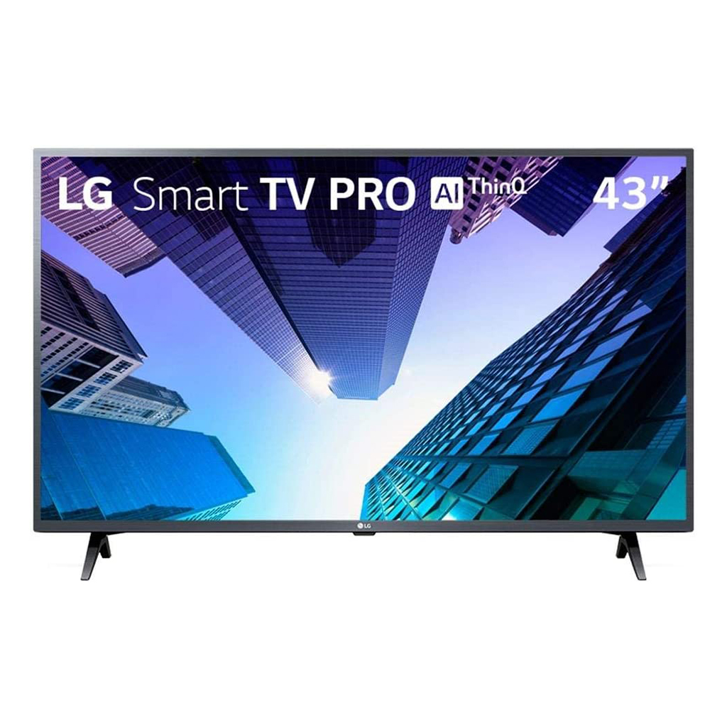 Smart TV LG LED 43 ThinQ AI Full HD 43LM631C0SB, 3 HDMI, 2 USB, Wi-Fi, Conversor Digital