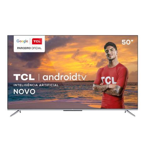 Smart TV TCL 50 Polegadas P715 4K UHD Android TV