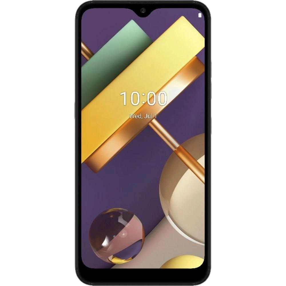 Smartphone LG K22 32GB Dual Chip Android 10 Tela 6.2Quad Core 4G Câmera 13MP+2MP Titanium