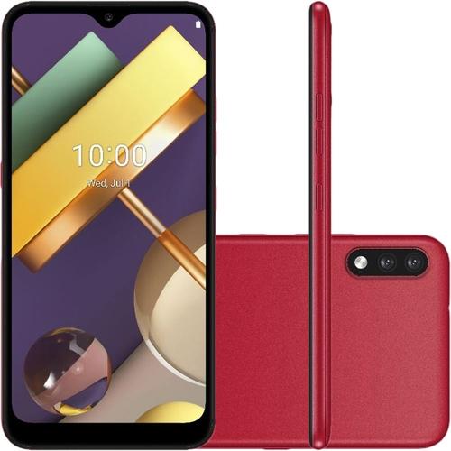 Smartphone LG K22 32GB Dual Chip Android 10 Tela 6.2 Quad Core 4G Câmera 13MP+2MP Vermelho