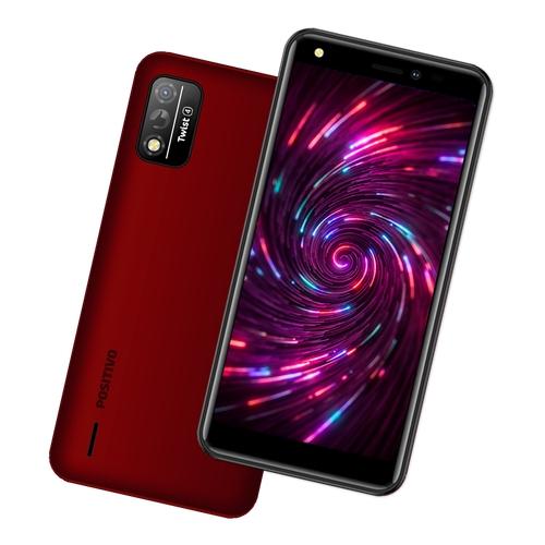 Smartphone Positivo S514 Twist 4 64GB Tela 5.5 3G Vermelho