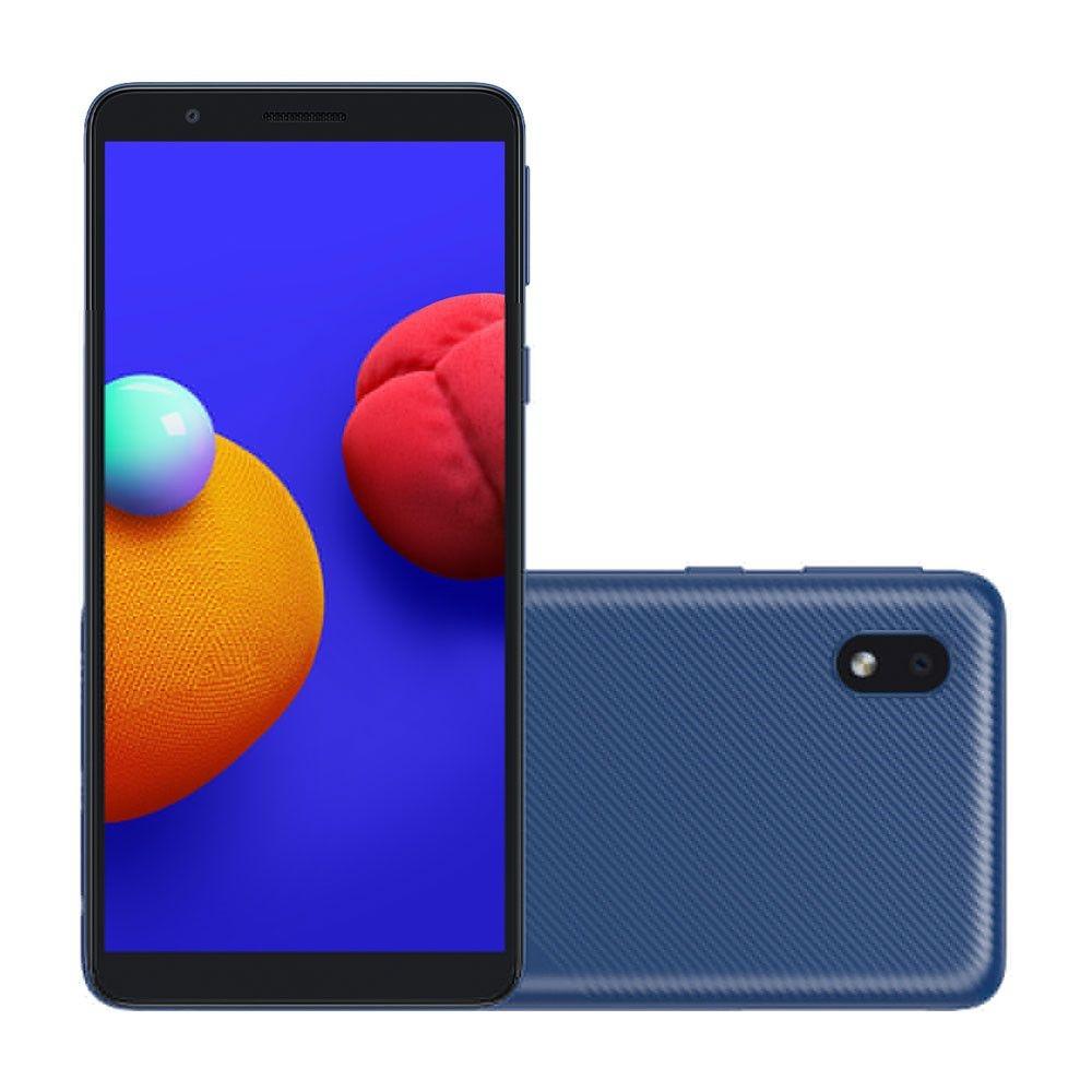 Smartphone Samsung Galaxy A01 Core 32GB Dual Chip Android 10.0 Tela 5.3 Quad-Core Wi-Fi Câmera 8MP Azul