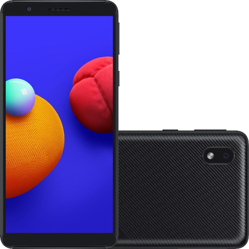Smartphone Samsung Galaxy A01 Core 32GB Dual Chip Android 10.0 Tela 5.3 Quad-Core Wi-Fi Câmera 8MP Preto