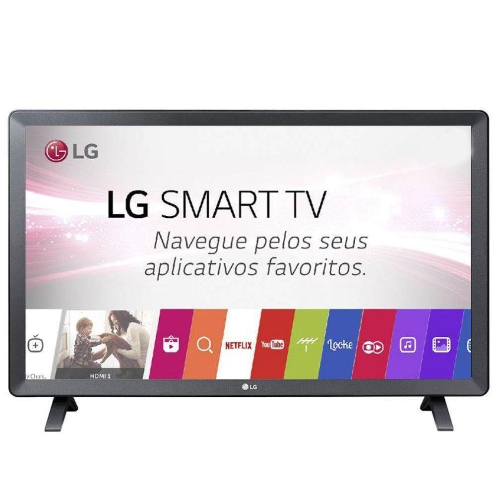 TV Monitor LG LED 23.6 Smart 24TL520S-PS Wi-Fi DTV 2 HDMI 1